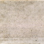 Magna Carta (British Libray Cotton MS Autugstus II.106) CC by Wikipedia