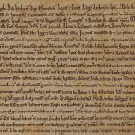 The Salisbury Cathedral 1215 Magna Carta