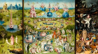 The Garden of Earthly Delights by Hieronymus Bosch. The Prado Museum.